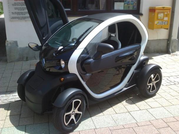 Renault Twizy in Baden, Österreich