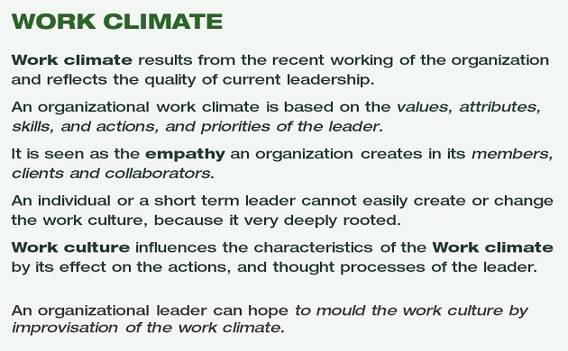 work-climate